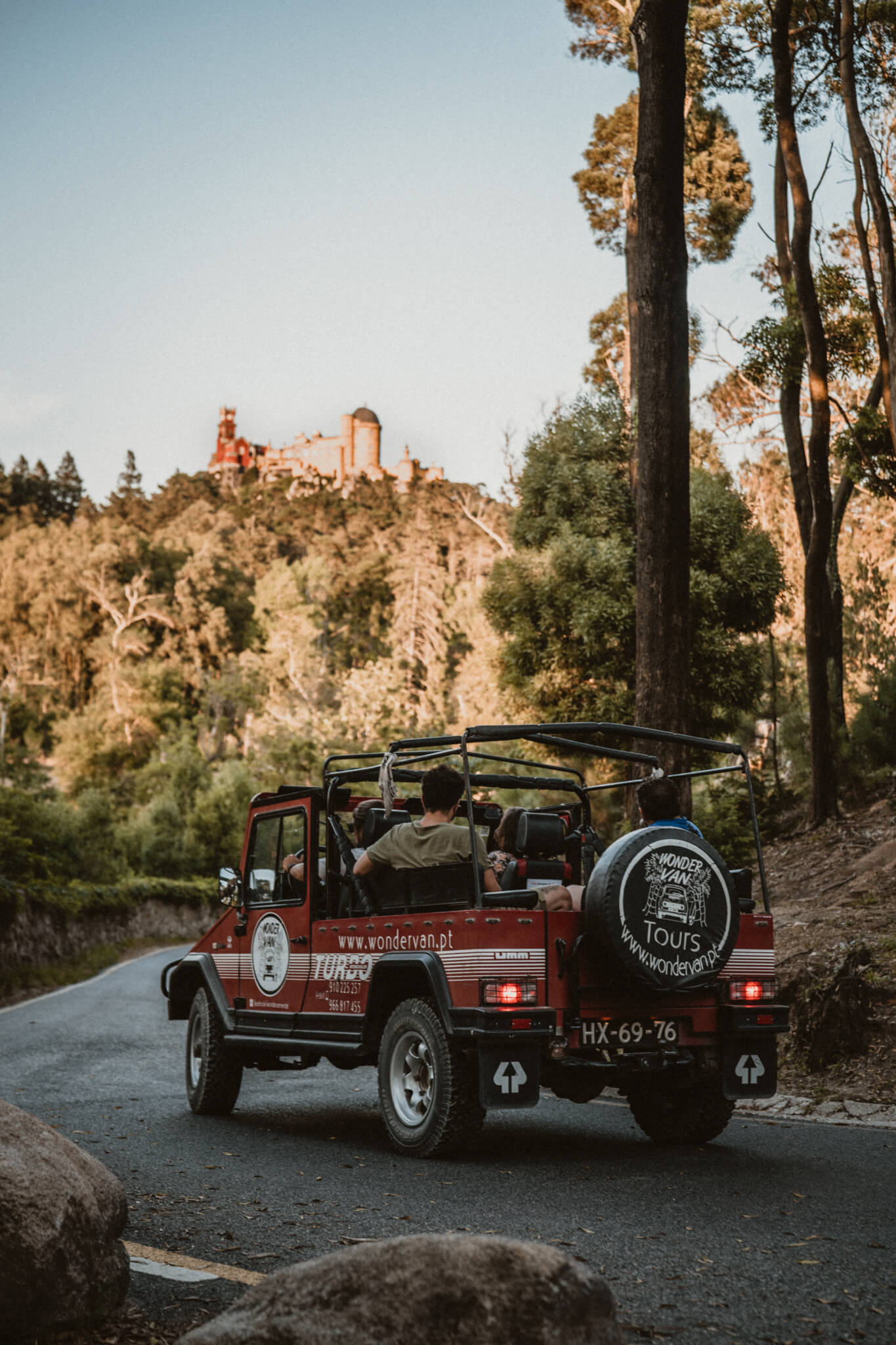 Wonder Jeep at a Sintra View Point